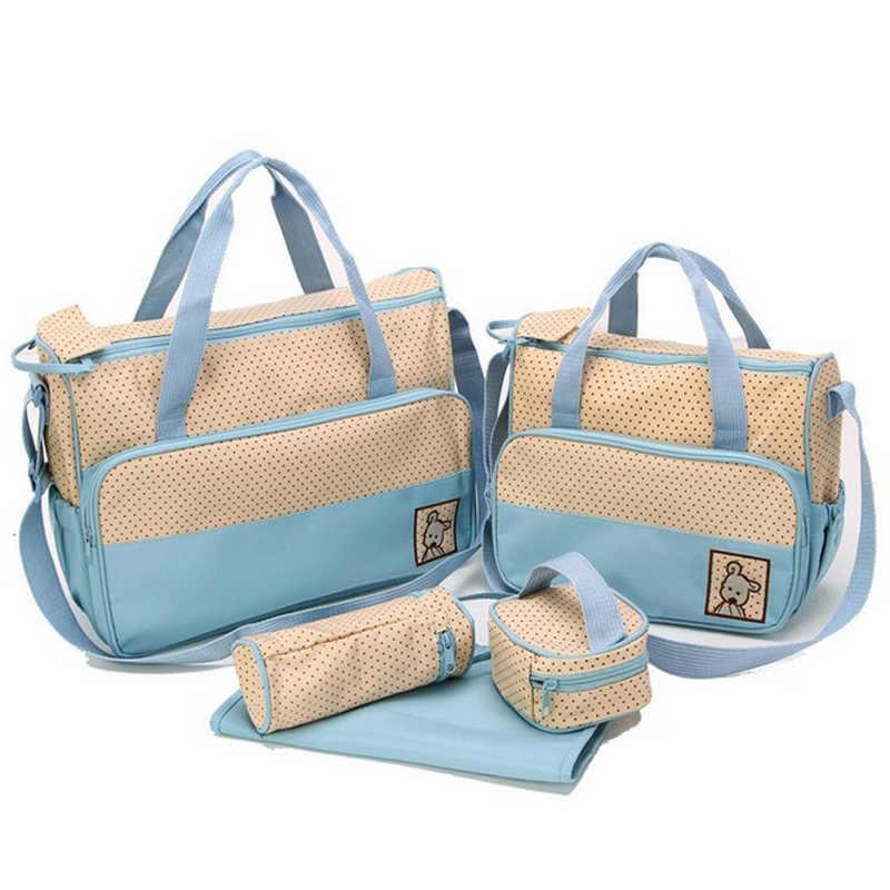 Diaper Baby Bag Set - ( 5 Pcs )