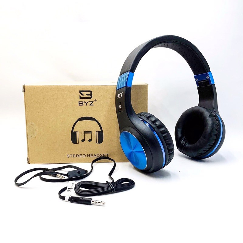BYZ-SH108 Wired Headphone - with Mic for All Phones PC Gamer