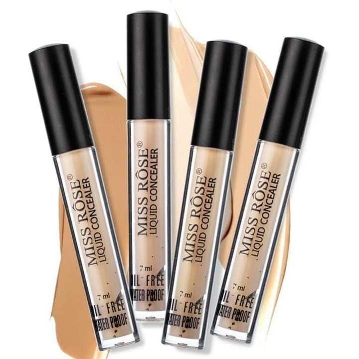 MISS ROSE Facing Contour Palette Corrective Liquid Makeup Eye Base Eyebrows Face Cream Corrective Cream Cosmetics