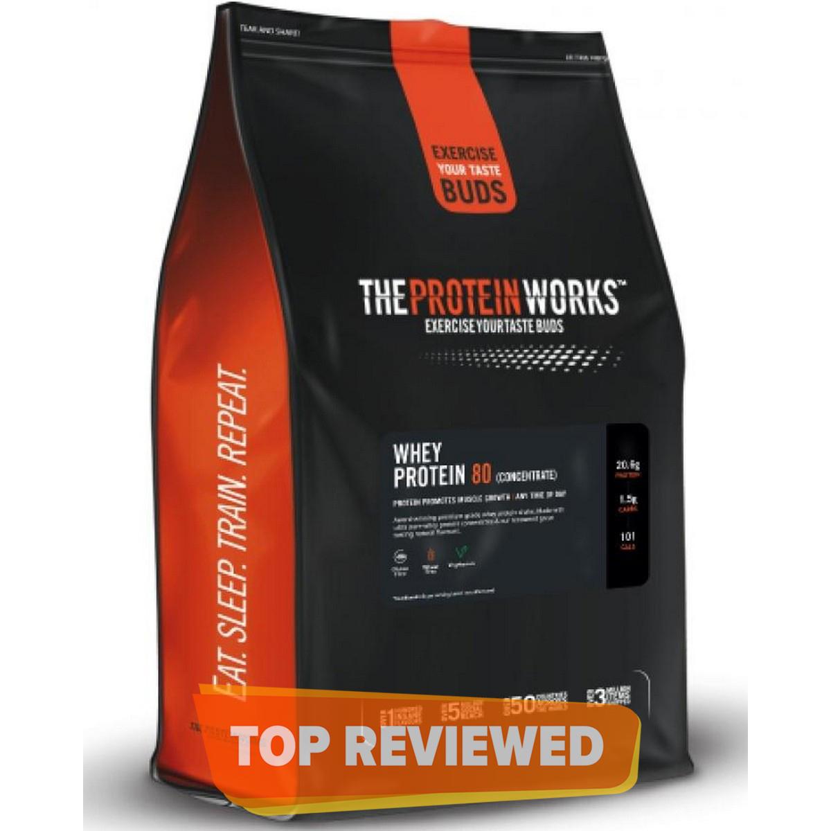 Whey Protein 80 - 500 g (1.1 lbs) - Vanilla Creme