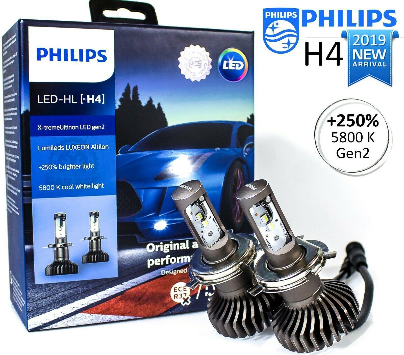 Philips Xtreme Ultinon Gen 2 LED 5800K +250%
