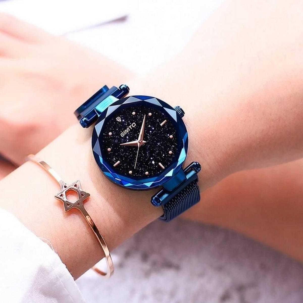 WaterProof Fashion Ladies Watch Magnet Clasp Adjusting Strap Beautiful Elegant Women'S Watch Women Luxury Wrist Watches