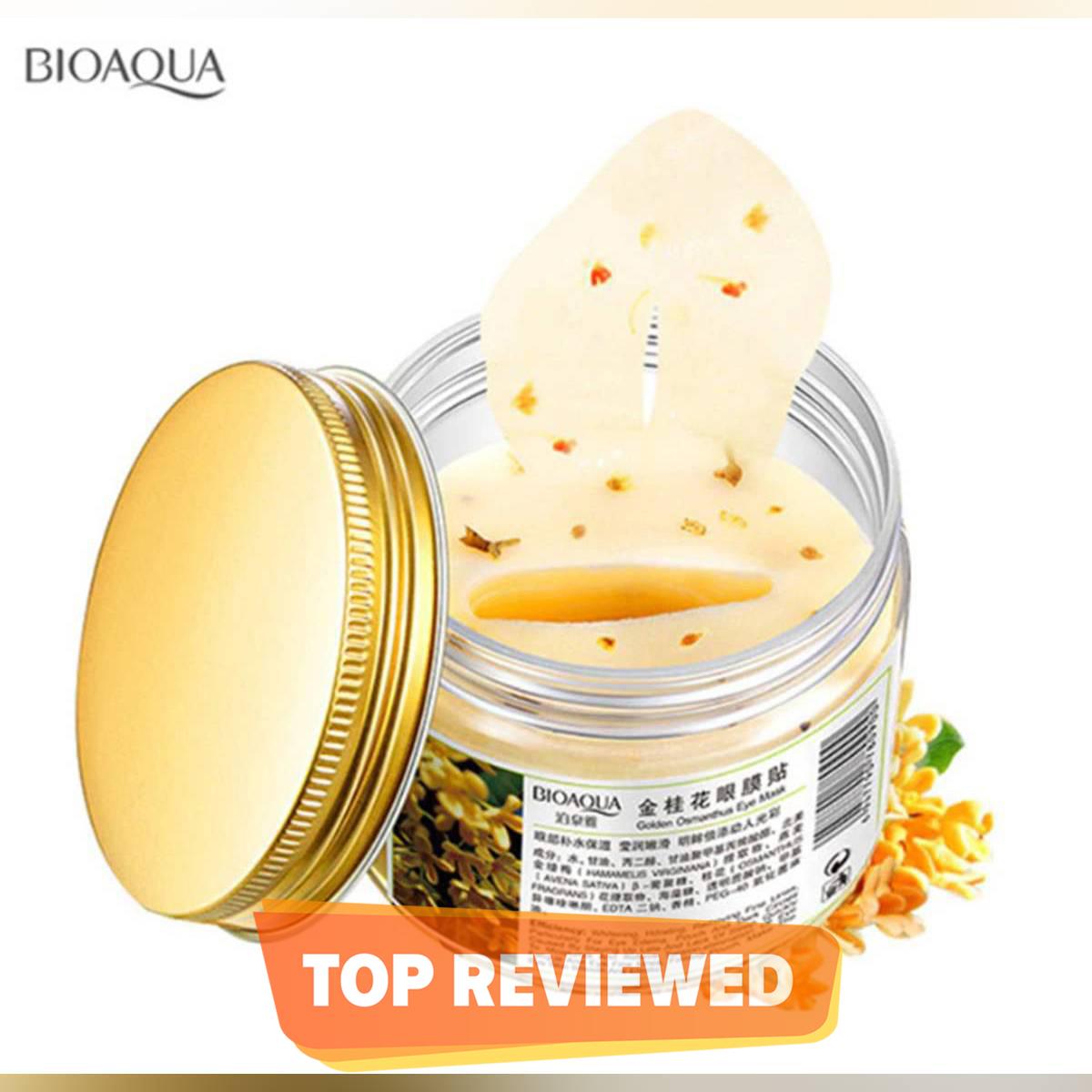 BIOAQUA-Gold Eye Mask Patch for Women Dark Circle Gel (80 PATCH)-BQY0900