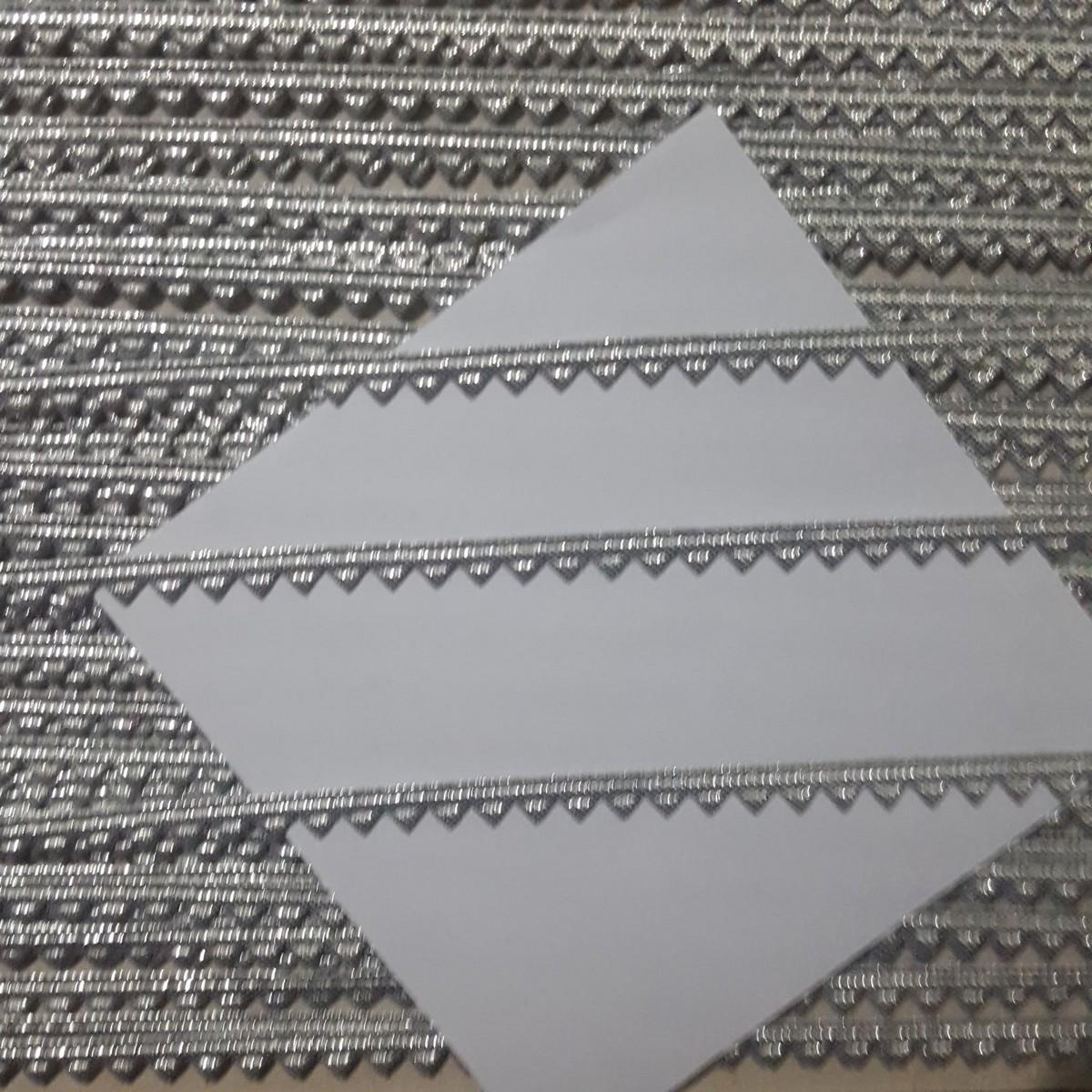 zero size laces for clothes 10 gaz / gotta patti samosa lace /lace for dress