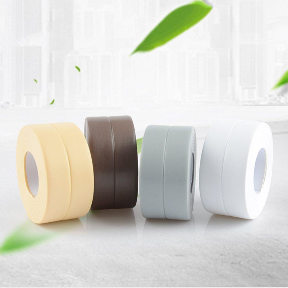 Waterproof Mildew Proof Adhesive Tape Kitchen Sink Joint Crevice Sticker Strip