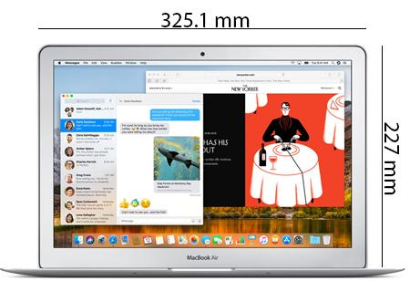 Apple MacBook Air - Physical Features