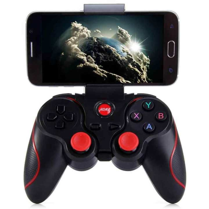 Mobile Phone Bluetooth Wireless Game Controller - Gamepad & Joystick Fortnite/Pubg - Black