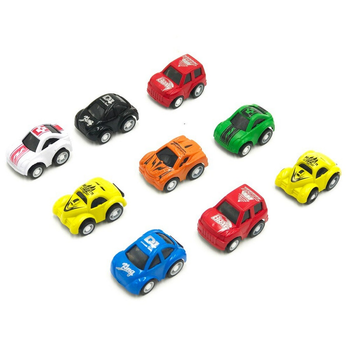 Pull Back Mini Car Set Toy For Kids and Boys Pullback Vehicles Cars Toys Pack of 5 Pcs