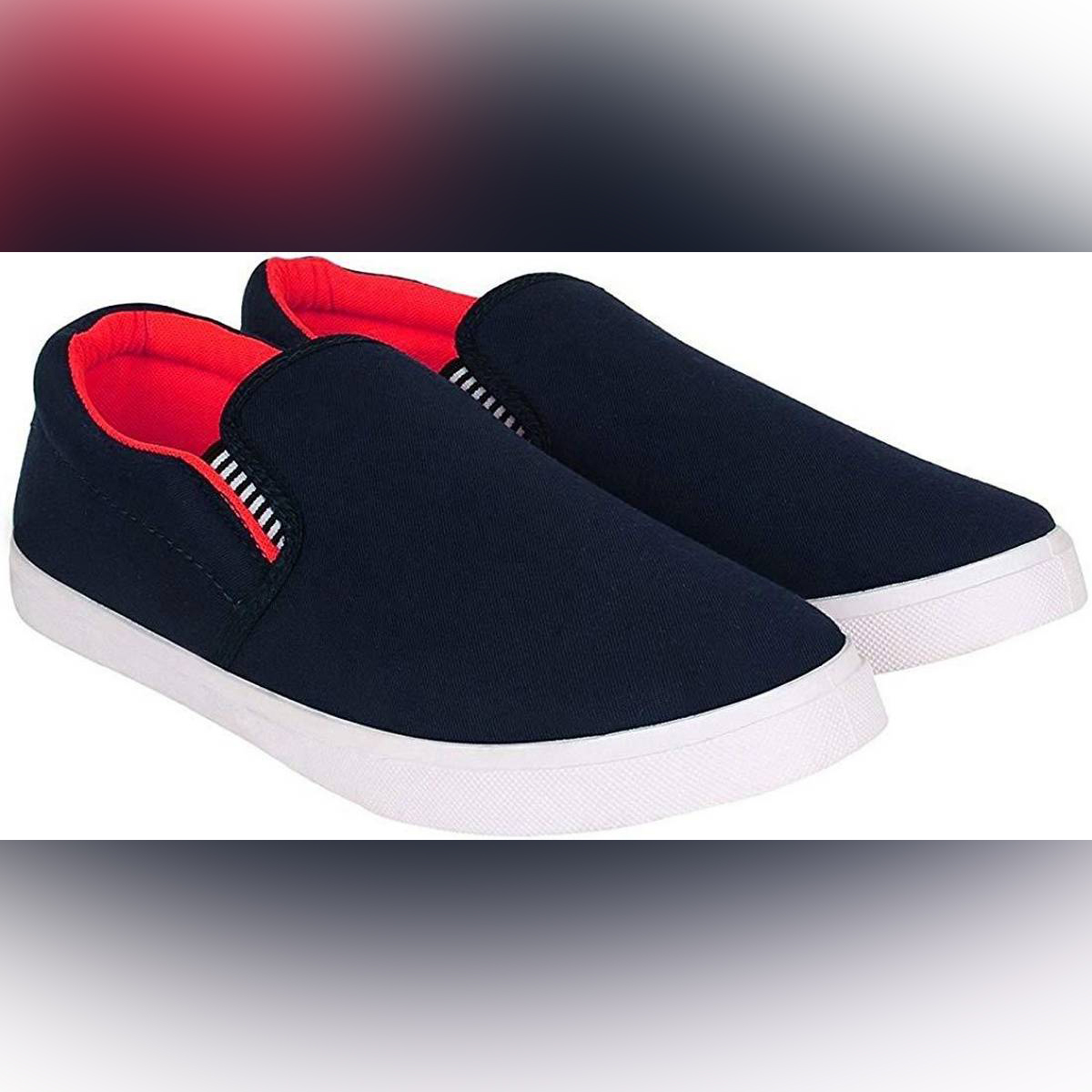 New Stylish Casual Jeans Shoes for Men Blue Color