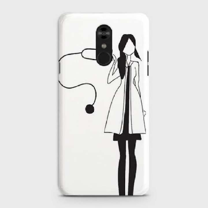 LG Stylo 4  Cover I am Your Doctor Hard Cover- Design 20 Case