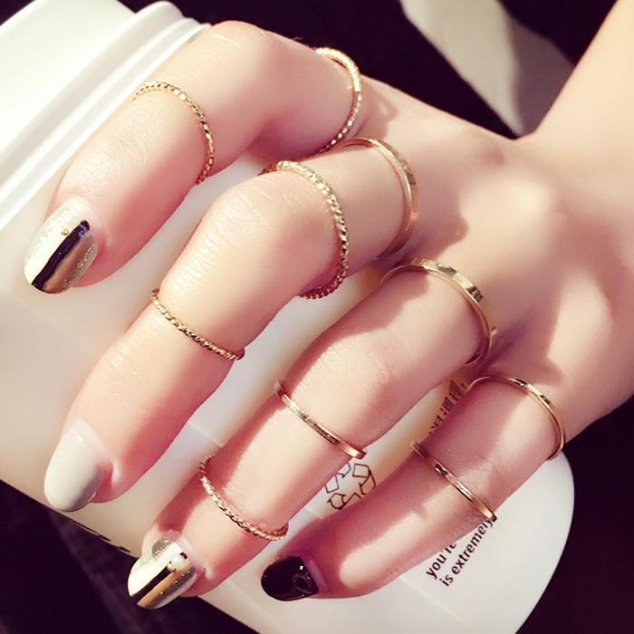 Trendy High Class 10 Elegant Ring for Women