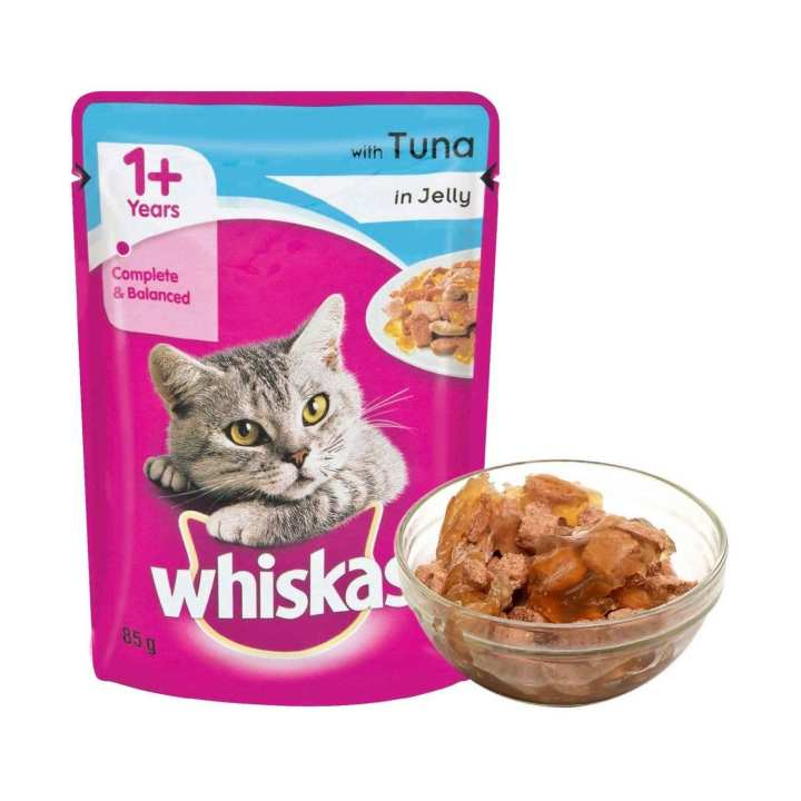 12 x Whiskas Jelly Pouches -100g
