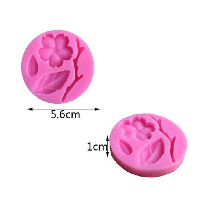 3D Silicone Fondant Mold Blossom