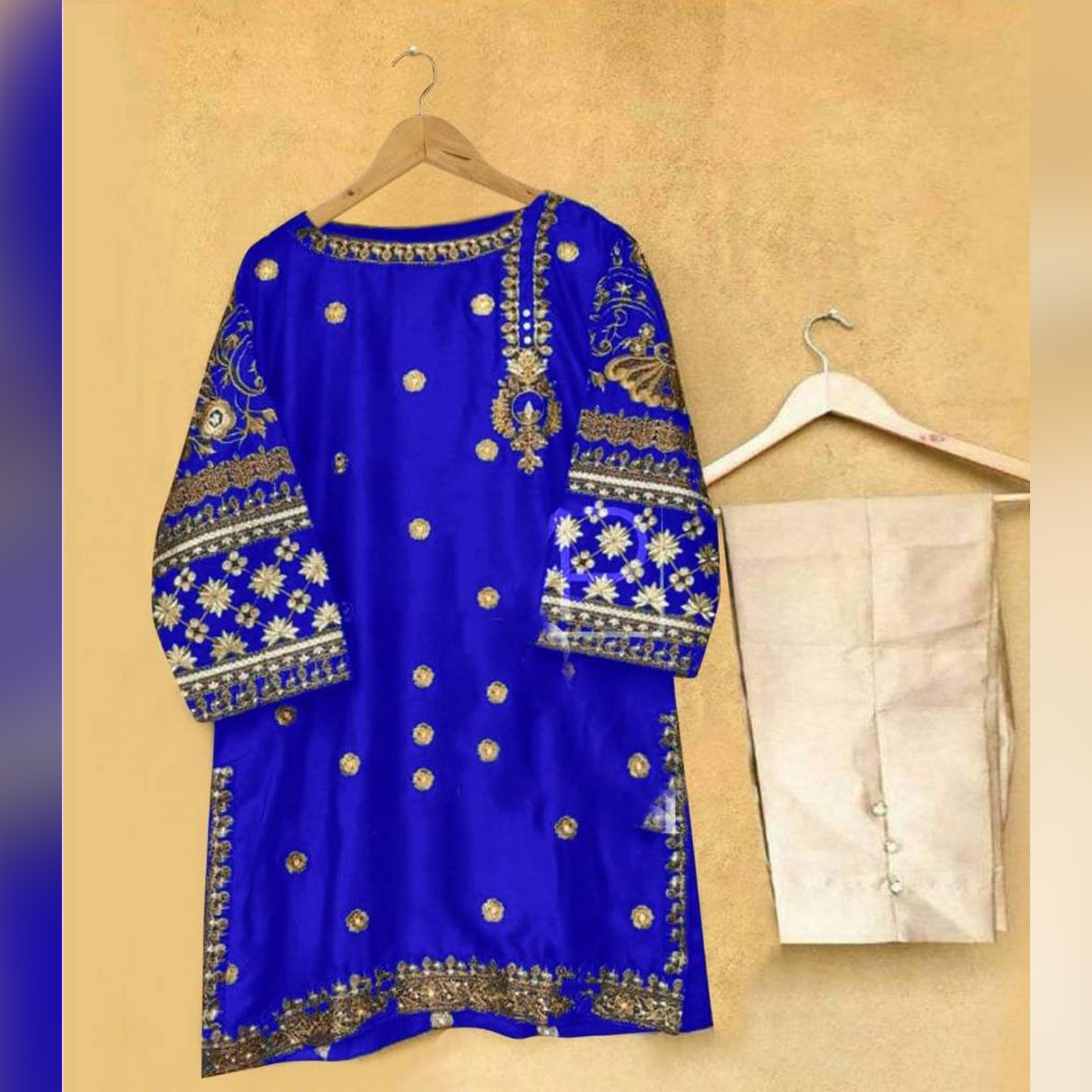Embroidered Suit 2 pc for Girls