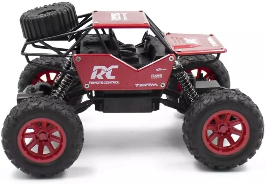 1:18 High Speed Alloy RC Car 27MHz Remote Control Off-road Climbing Vehicle Toy Big Horsepower Monster Truck For Kids Gift