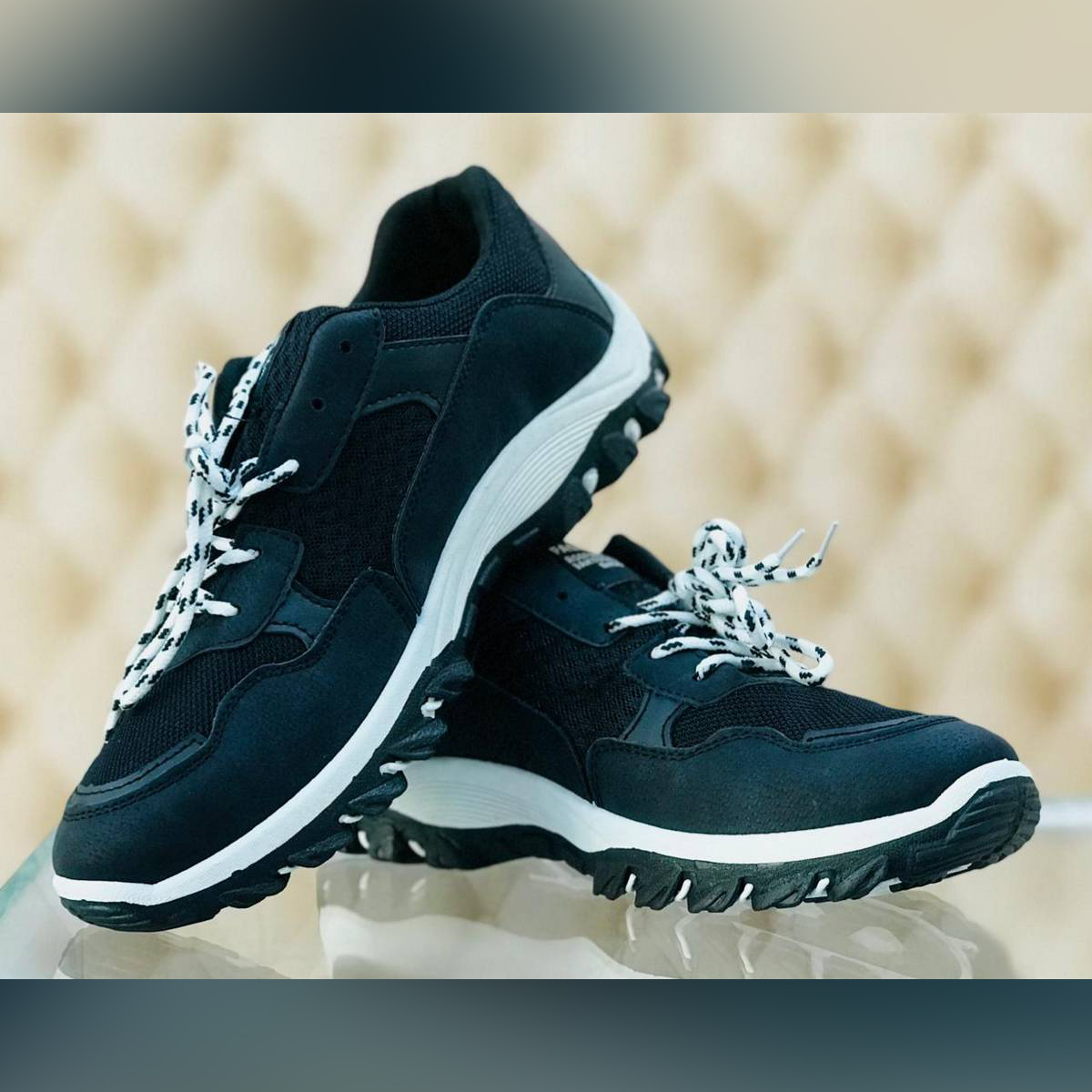 2018 Black Korean Style Daddy Version Shoes