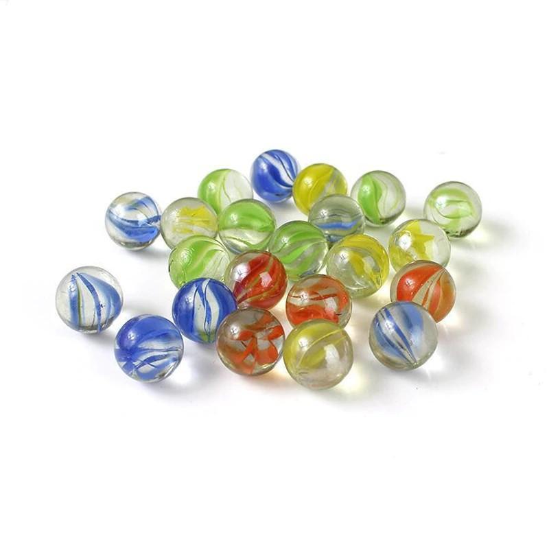 80 Pcs Of Glass Balls 12mm Kids Playing Games Pots And Aquarium