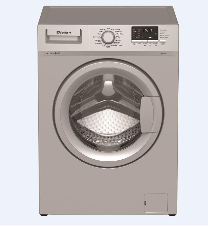Dawlance 8 Kg Fully Automatic Front Load Washing Machine Dwf 8120 Gr Inverter