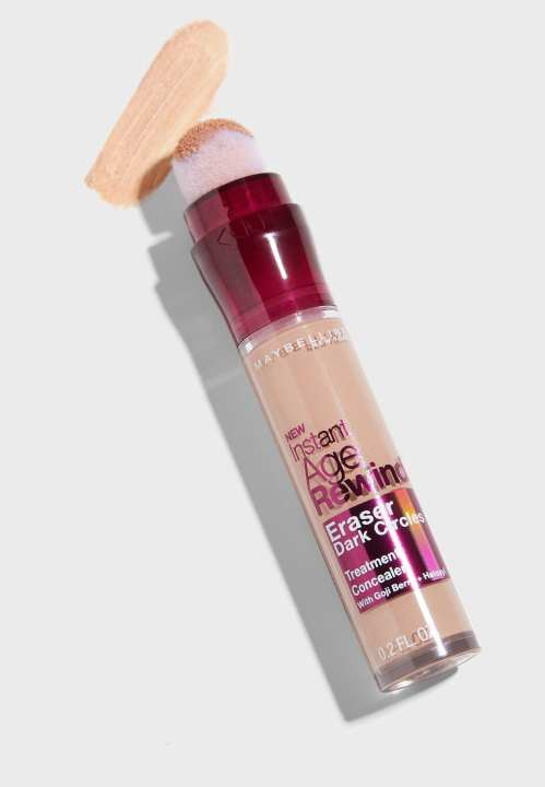 Maybelline Instant Age Rewind Eraser Dark Circles Concealer, 140 Honey/Miel (6ML)