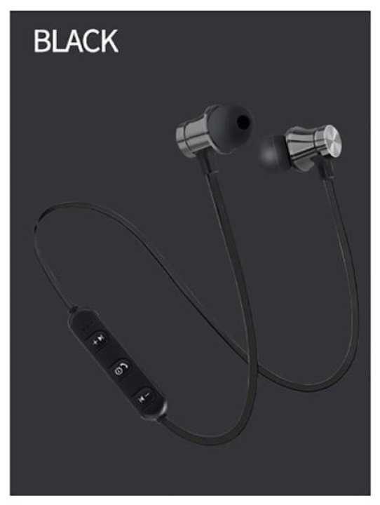 Wireless Headphone Bluetooth Earphone Magnetic Headset Neckband Sport Running Bluetooth Earphones