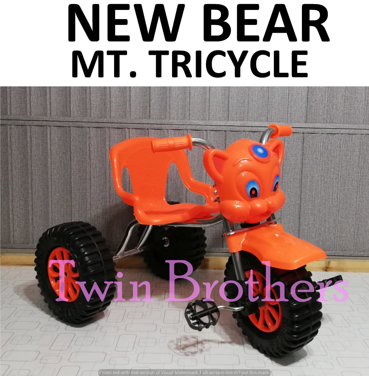 Bear Tricycle For Kids