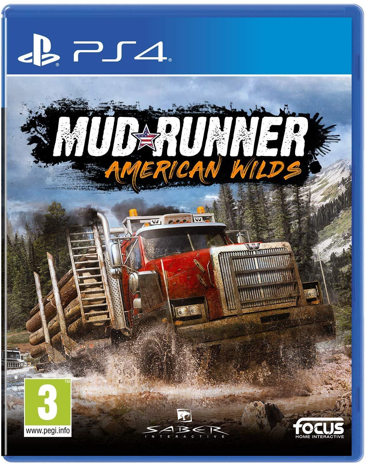 Spintires MudRunner - American Wilds Edition (PS4)