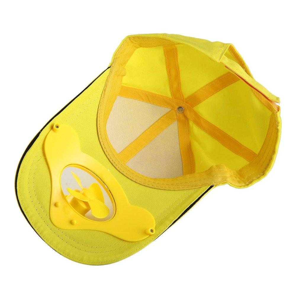 4451ba8f6d3 TE Summer Sport Outdoor Hat Cap With Solar Sun Power Cool Fan For Cycling   Buy Online at Best Prices in Pakistan