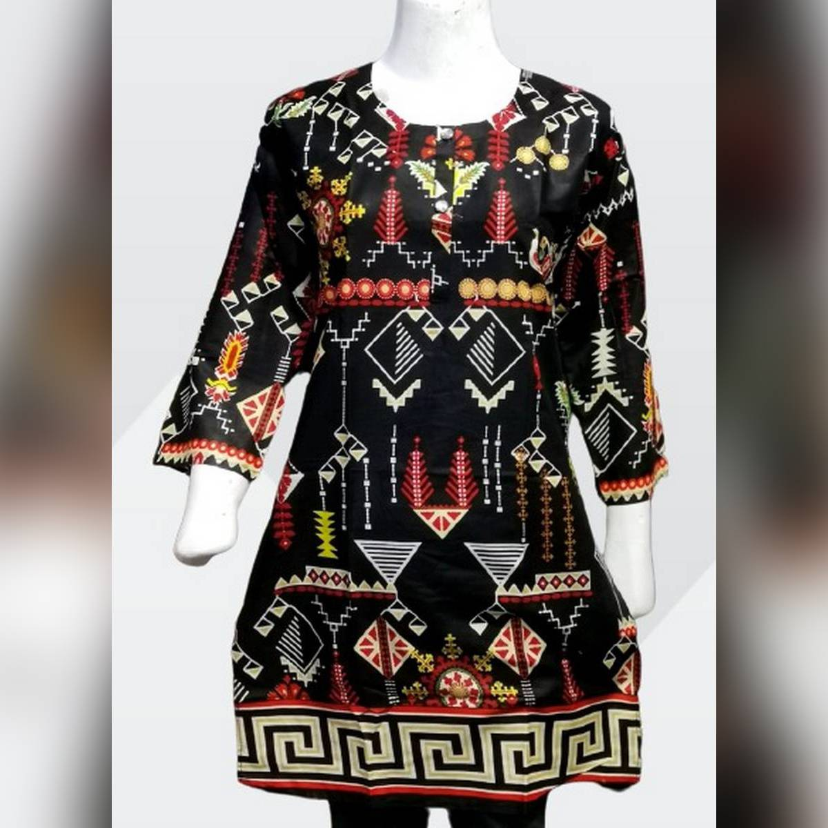 Printed Lawn Kurti For Ladies and Girls Good Quality FAbric Fashion Style Trending