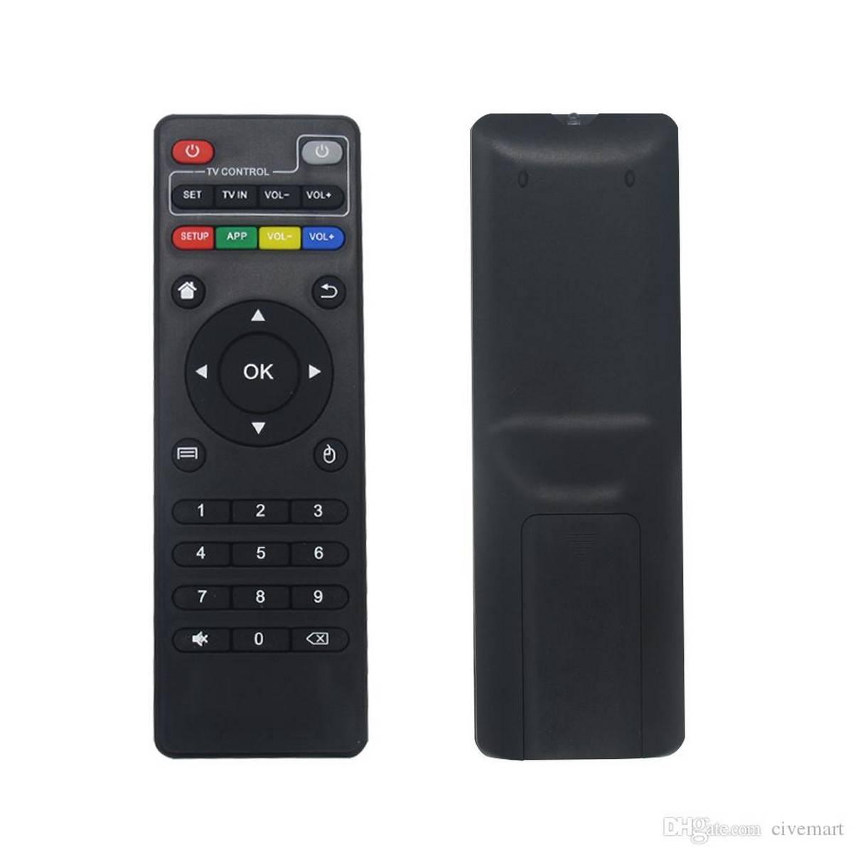 Android Box X96mini Remote Control - TV Box Remote Control Set Top Box Remote Control for all Android Smart TV Box A95X F3 X96 AIR -Android box Remote control for H96 max h96 max plus h96 mini x96 mini x96 air x96w t9 tv box