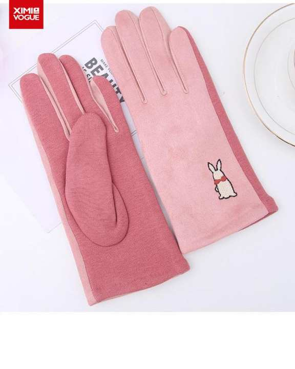 Cold Protection Soft and Fashionable Hand Gloves Super Warmer for Women