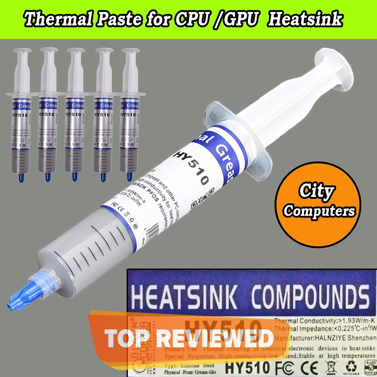 Heat Sink Thermal Paste for CPU Cooler  Thermal Grease Paste for GPU