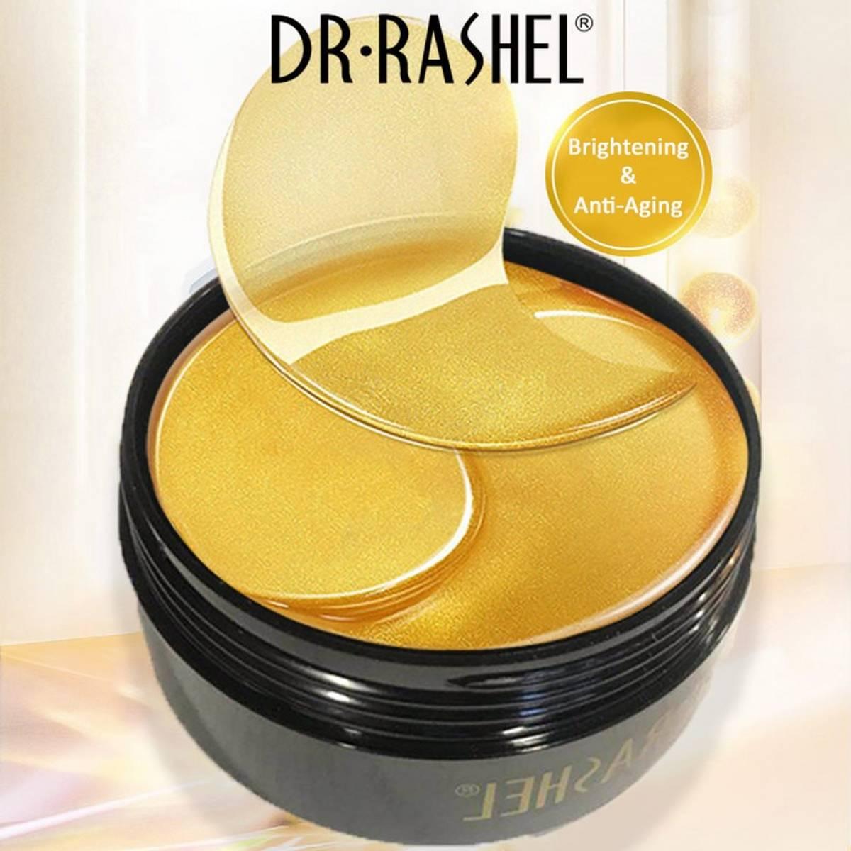Dr.Rashel 24k Gold Collagen Hydrogel Eye Mask 60pcs (original)