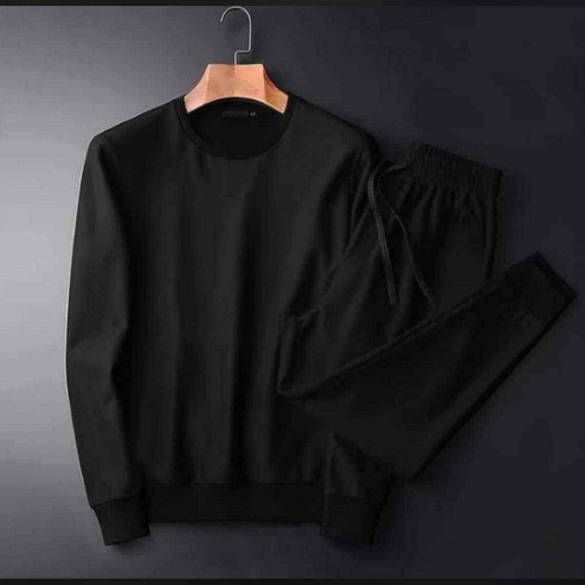 Plain Trending Track Suite For Men's Shirt and Trouser