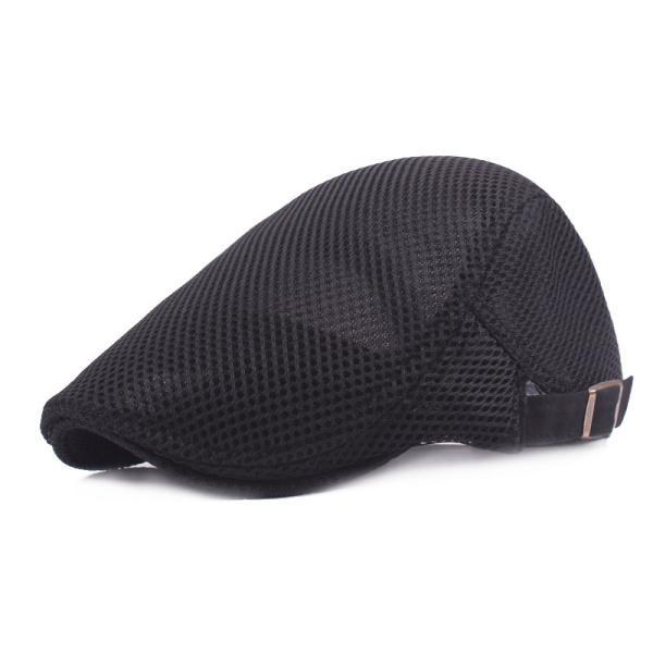 da81c0868fbb4 Men Breathable Mesh Summer hat Newsboy hat Ivy Cap Cabbie Beret Irish Flat  Cap