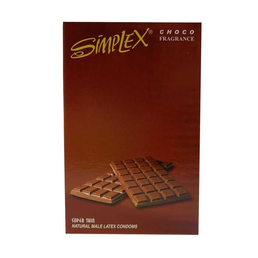 Pack Of 12 - Simplex Chocolate Flavoured Condom