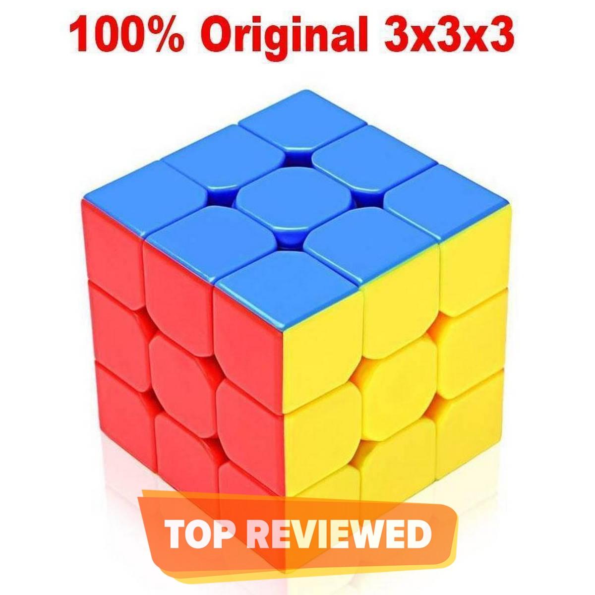 Rubik's Cube 3x3 Speed Cube Stickerless Magic Cube Puzzles