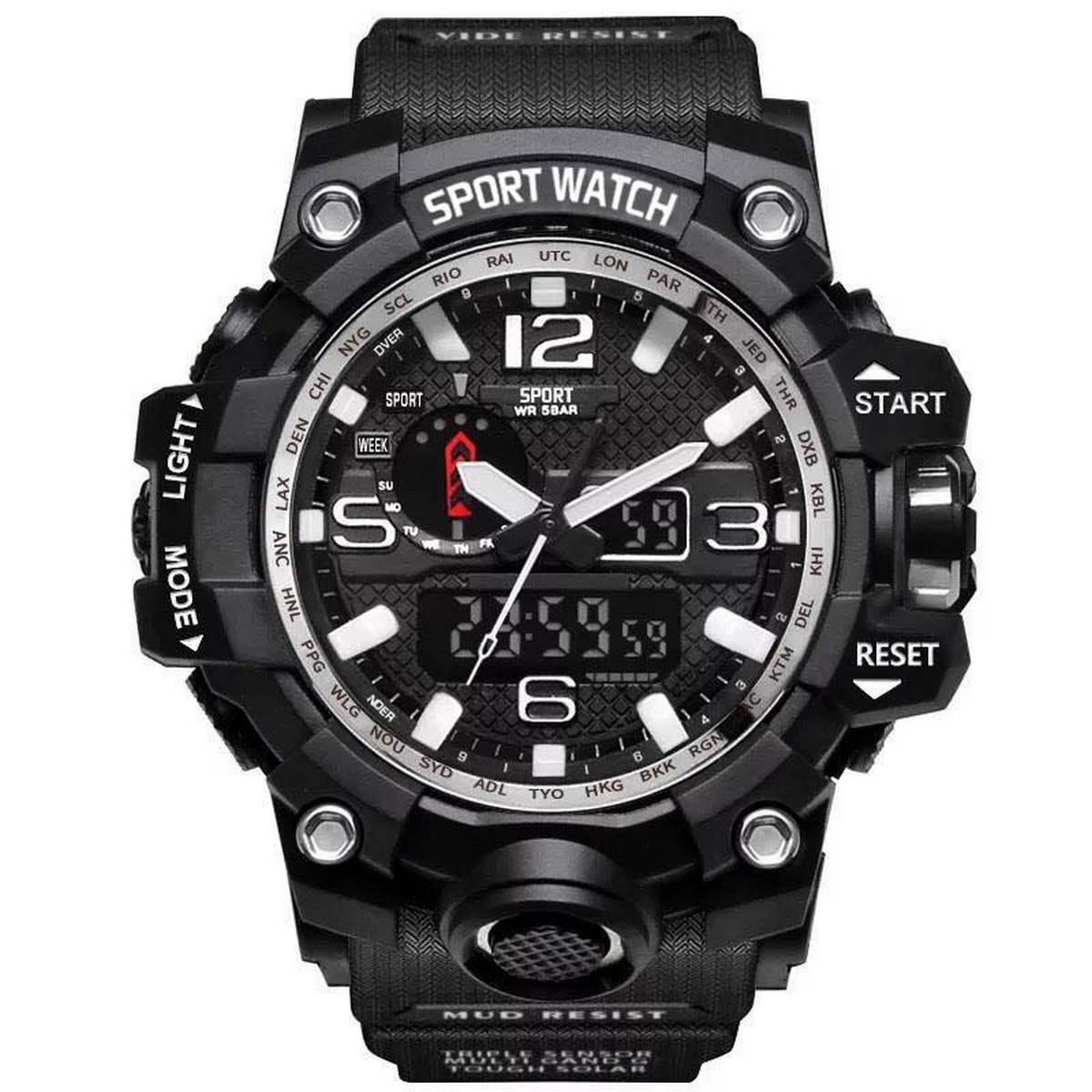 Mens Watches 2020. Hot Sale Fashion Watch Men G Style Waterproof Sports Military Watches Shock Luxury Analog Digital Sports Watches