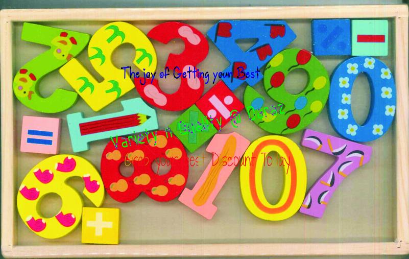 3D English Education Toys Alphabets abc Wooden Craft for Kids - Children Preschool Gift
