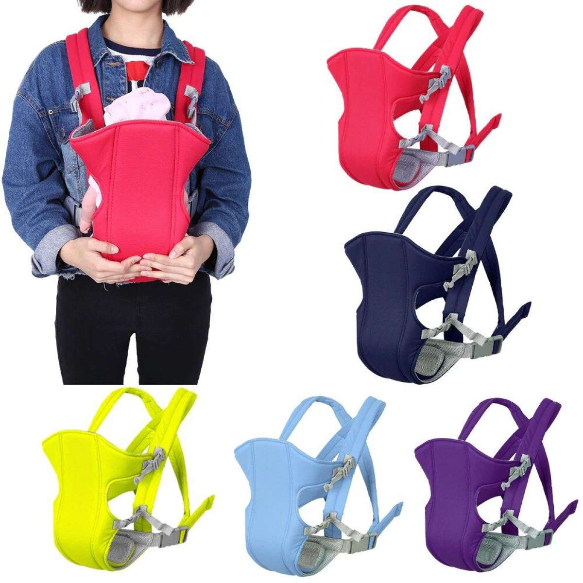 special offer for Baby Carrier Adjustable Bag with stylish and fancy Waist Belt