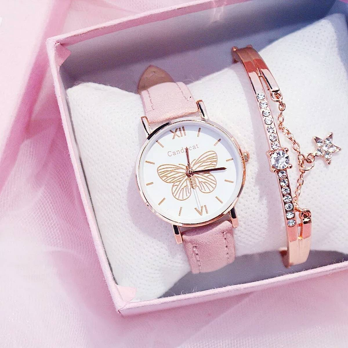 Beautiful Watch For Women In high Quality 2020 Luxury Watch For Girls With Free Box ( Only Watch and Box )