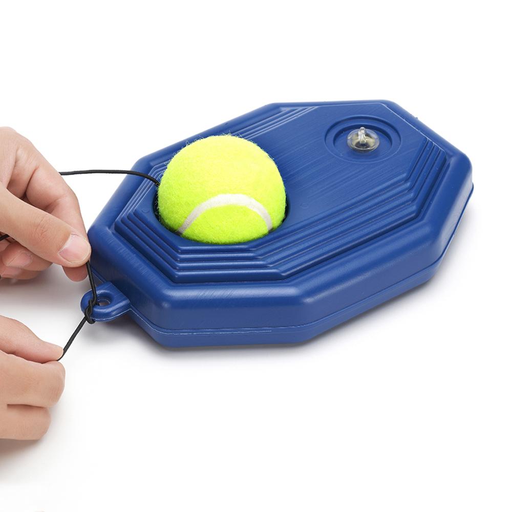 Tennis Ball Rebounder Trainer Partner Men Exercise Tennis Ball Sport Self Rebounder Portable Set Aids Home Tool Partner Machine Ball Tennis Training Equipment