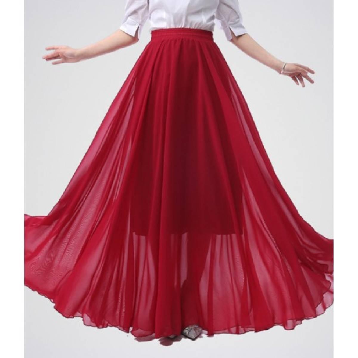 Fashion up chiffon pleated long skirts for women, long chiffon skirts ,long pleated skirts for women,summer skirts for ladies, stylish skirts for ladies, party skirts for women wedding skirts for women, maxi skirts