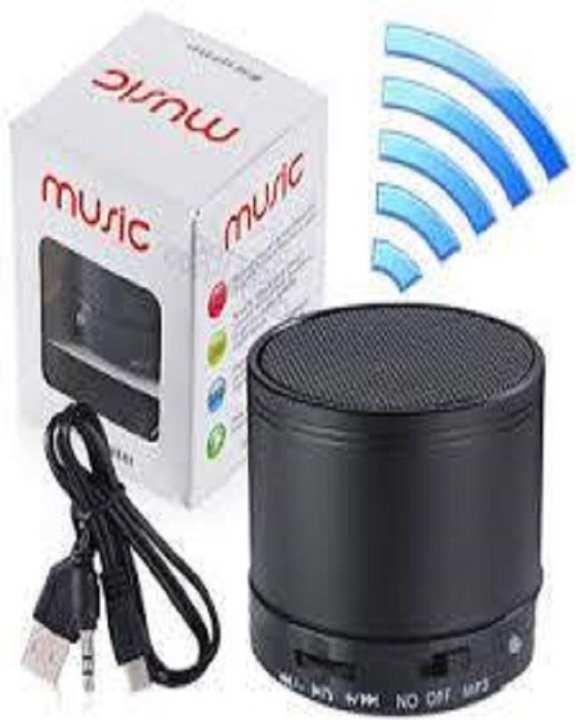 Wireless Led Mini Portable Speaker & Music Player Multicolor