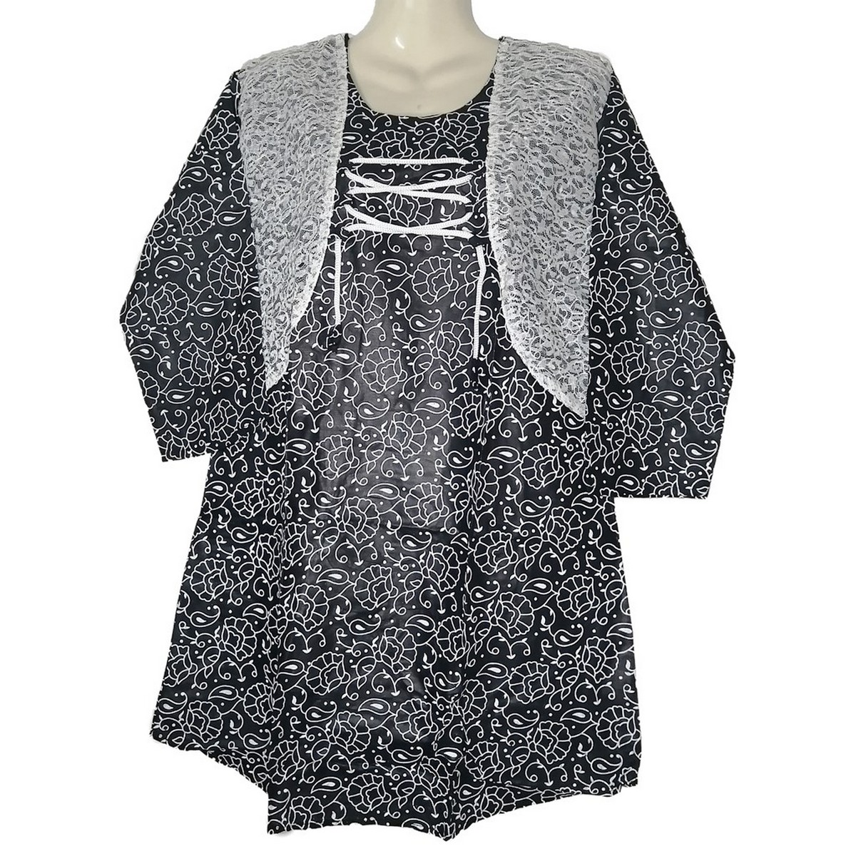 Lawn Printed Stylish Ladies Tops Jacket Style Ready to Wear for Women ST-23