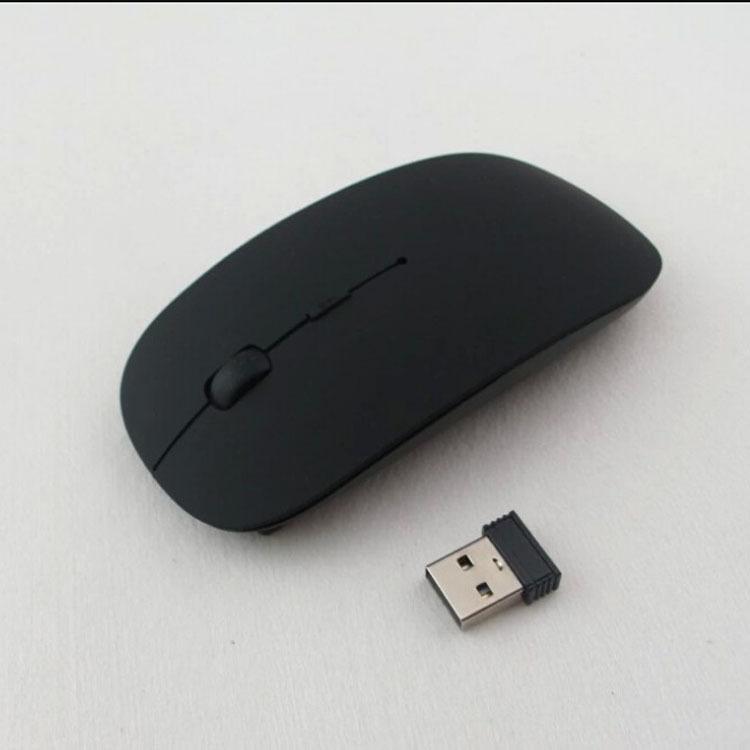 Wireless Mouse Black Ultra Slim 2.4Ghz