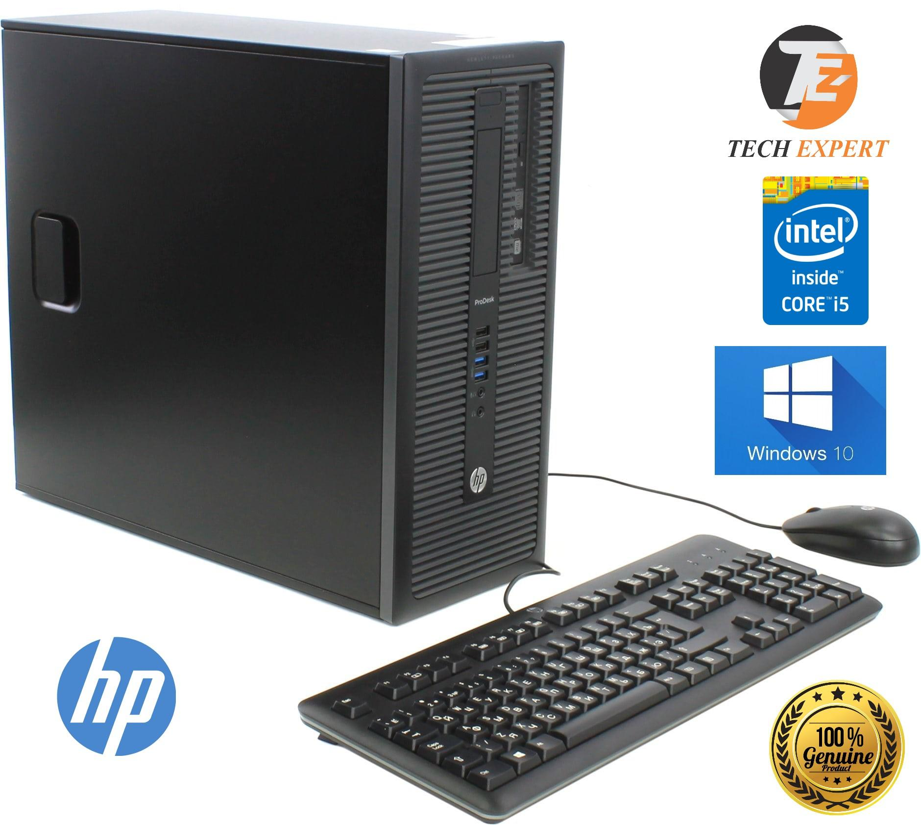 HP Elite Desk G1-600 Intel Core i5-4440 4GB, 360GB, Gaming PC Win10  Pro(Microsoft Certified)