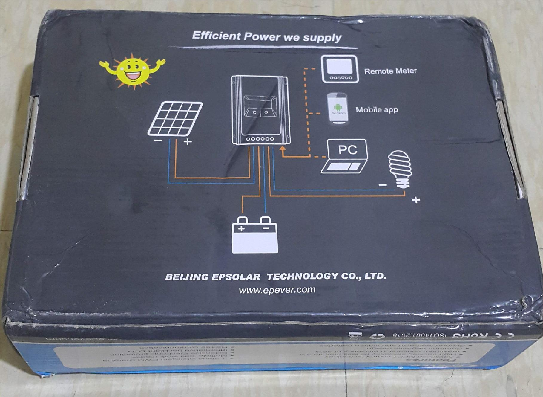 780W Max connected Solar panels Tracer3210AN Solar controller 30A 24V 12V  MPPT EPEVER regulator (Refurbished)