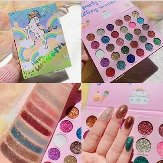 Deluxe Happy Unicorn Glitter Party 30 Color Glitter Palette: Buy Online at  Best Prices in Pakistan   Daraz.pk