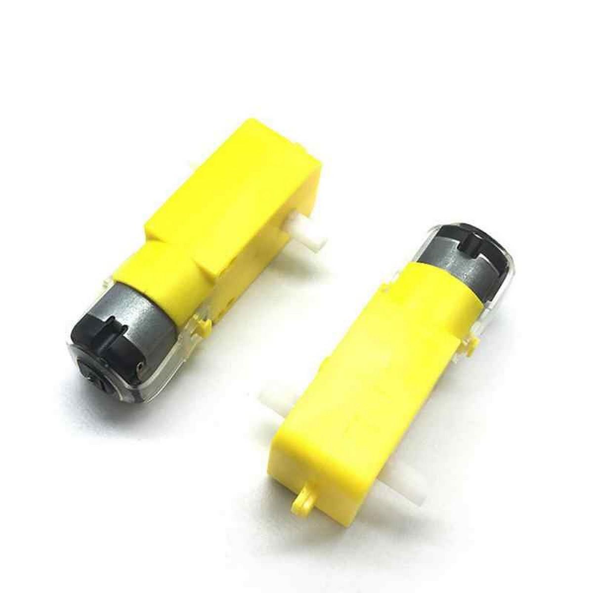 3-8V TT Yellow Gear Motor for Smart Robotic Car