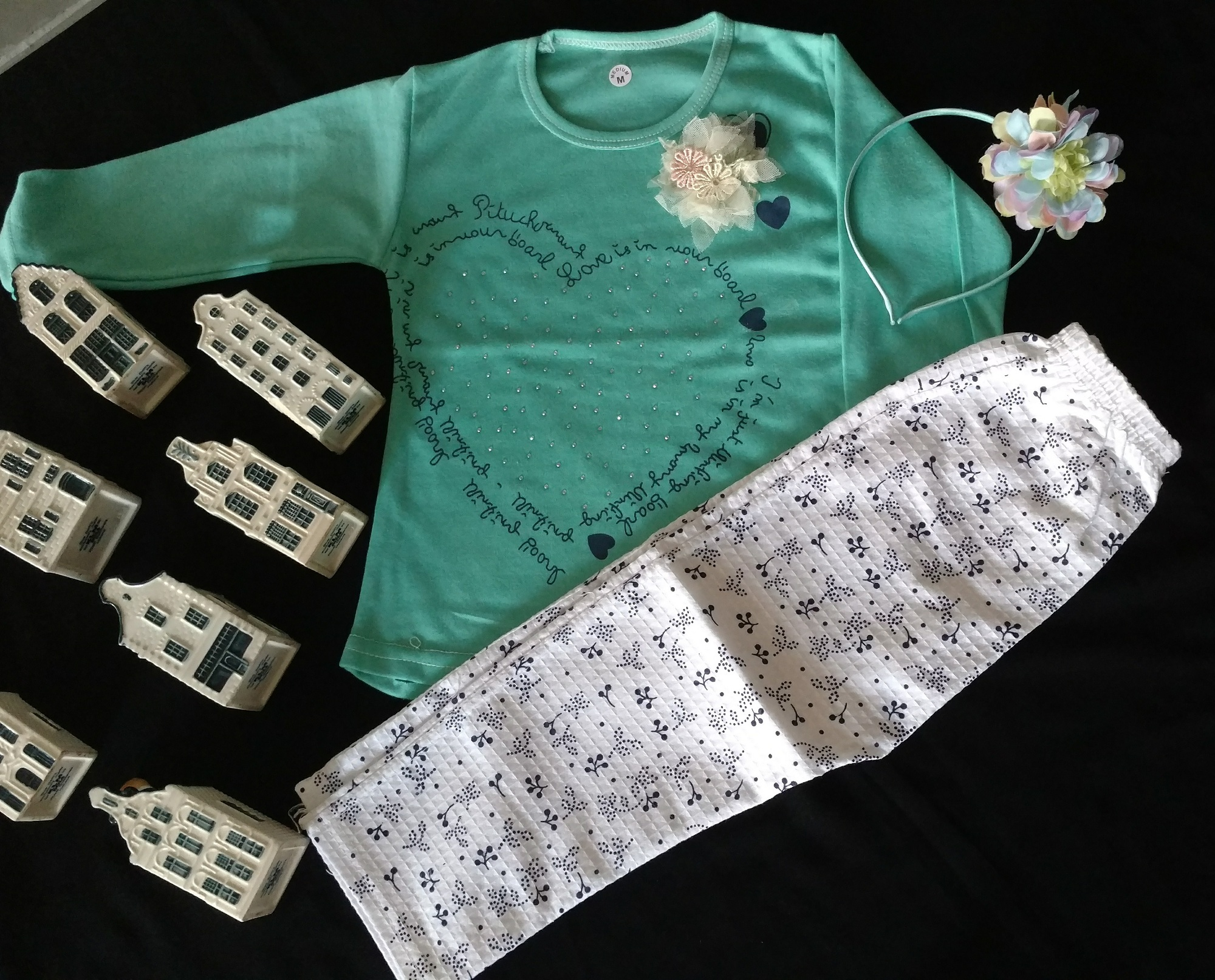 Baby Girl 2 Piece Clothes Set For Casual WearBaby Girl's 2 Piece Clothes Set Casual & Party Wear Dress Girls Collection